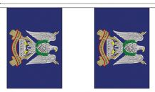ROYAL SCOTS DRAGOON GUARDS BUNTING - 3 METRES 10 FLAGS
